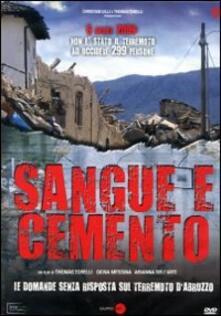 Sangue e cemento di Gruppo Zero - DVD