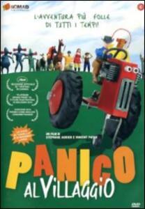 Panico al villaggio di Vincent Patar,Stéphane Aubier - DVD