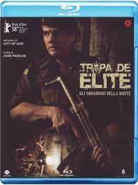 Cover Dvd Tropa de elite. Gli squadroni della morte (Blu-ray)