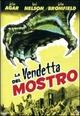 Cover Dvd La vendetta del mostro