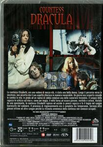 Countess Dracula. La morte va a braccetto con le vergini di Peter Sasdy - DVD - 2