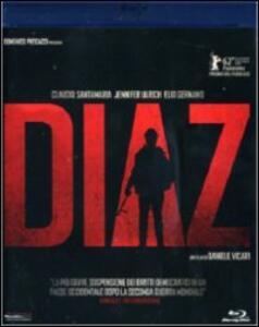 Diaz di Daniele Vicari - Blu-ray