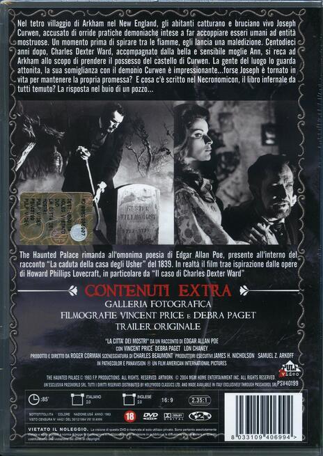 La città dei mostri di Roger Corman - DVD - 2