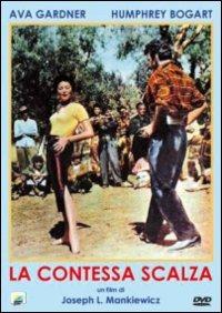 Cover Dvd contessa scalza (DVD)