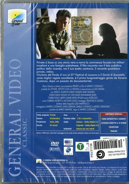 FILM PRIVATA REGIA SAVERIO COSTANZO SCARICA