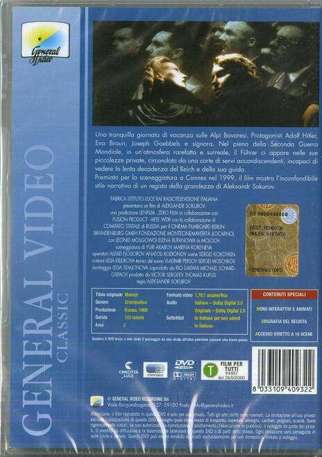Moloch di Aleksandr Sokurov - DVD - 2