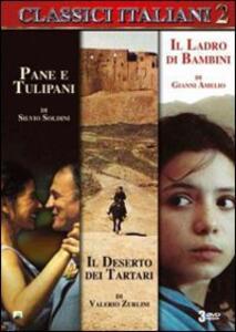 Classici italiani. Vol. 2 (3 DVD) di Gianni Amelio,Silvio Soldini,Valerio Zurlini