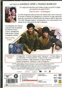 Come inguaiammo il cinema italiano. La vera storia di Franco e Ciccio di Daniele Ciprì,Franco Maresco - DVD - 2