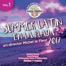 Summer Latin en la playa 2017 vol.1 - CD Audio