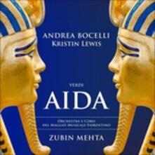 Aida - CD Audio di Andrea Bocelli,Giuseppe Verdi,Zubin Mehta,Orchestra del Maggio Musicale Fiorentino