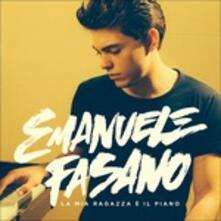 La mia ragazza è il piano - CD Audio di Emanuele Fasano