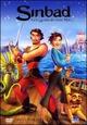 Cover Dvd Sinbad: la leggenda dei sette mari