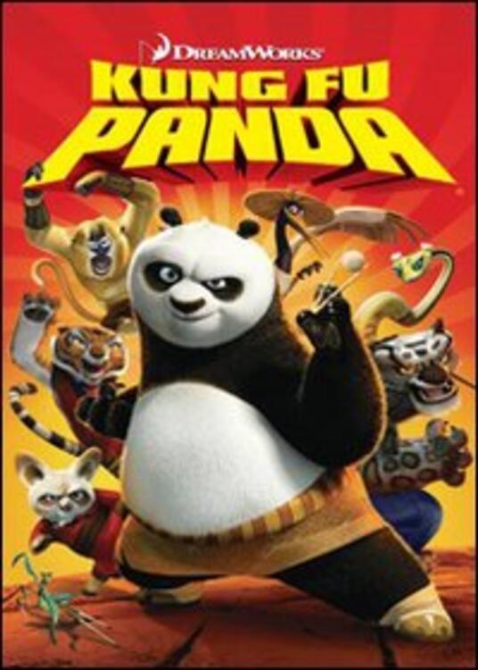Kung Fu Panda (1 DVD) di John Stevenson,Mark Osborne - DVD