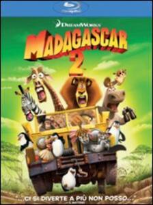 Madagascar 2 di Tom McGrath,Eric Darnell - Blu-ray