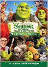 Cover Dvd Shrek e vissero felici e contenti (1 DVD)
