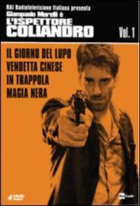 L' ispettore Coliandro. Vol. 1 (4 DVD) di Manetti Bros. - DVD