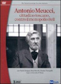Locandina Antonio Meucci cittadino toscano contro il monopolio Bell