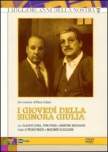 I giovedì della signora Giulia (3 DVD) di Massimo Scaglione,Paolo Nuzzi - DVD
