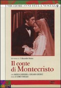 Il Conte di Montecristo (4 DVD) di Edmo Fenoglio - DVD