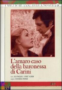 L' amaro caso della baronessa di Carini (4 DVD) di Daniele D'Anza - DVD