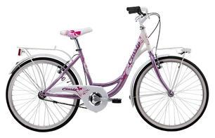 Bicicletta Da Ragazza 24 Senza Cambio Cicli Cinzia Liberty Girl Hi Tension 24 Rosa Bianca