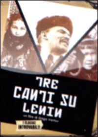 Locandina Tre canti su Lenin