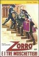 Cover Dvd DVD Zorro e i tre moschettieri