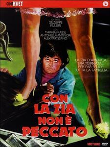 Con la zia non è peccato di Giuseppe Pulieri - DVD