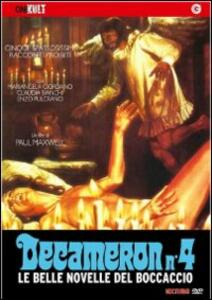 Decameron n. 4 di Paul Maxwell - DVD