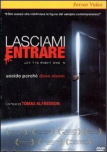 Lasciami entrare di Tomas Alfredson - DVD