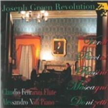 Joseph Green Revolution (Trascrizioni per flauto e pianoforte di opere famose) - CD Audio di Claudio Ferrarini,Alessandro Nidi