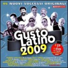 Gusto Latino 2009 - CD Audio + DVD
