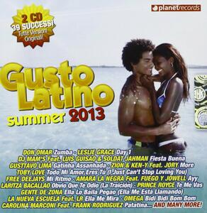 CD Gusto Latino Summer 2013