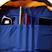 Cartoleria Zaino Duffy Tricolor Invicta. Blu, Giallo e Rosso Invicta 4