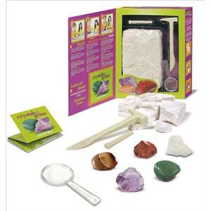 Crystals & Gems kit di scavo - 4
