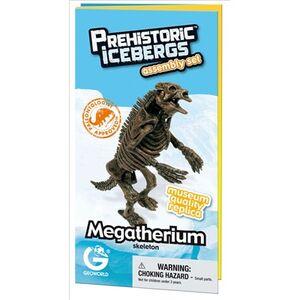 Giocattolo Megatherium Skeleton scheletro Geoworld 0