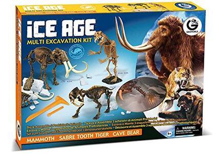 Geoworld. Ice Age Multi Excavation Kit - 2