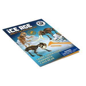 Geoworld. Ice Age Multi Excavation Kit - 12