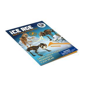 Geoworld. Ice Age Multi Excavation Kit - 13