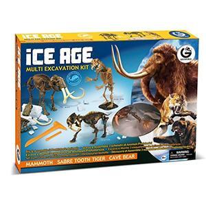 Geoworld. Ice Age Multi Excavation Kit - 3