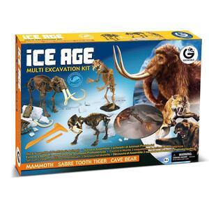 Geoworld. Ice Age Multi Excavation Kit - 9