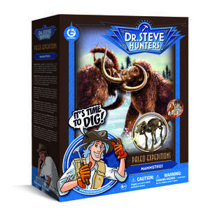 Paleo Expeditions. Ice Age Excavation Kit. Mammuthus