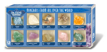 Giocattolo Minerals From All Over The World. 10 Minerals Geoworld