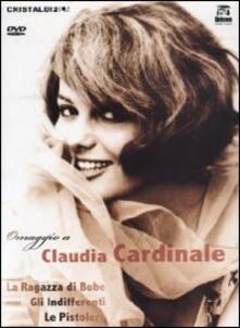 Claudia Cardinale. Omaggio a Claudia Cardinale (3 DVD) di Guy Casaril,Christian-Jaque,Luigi Comencini,Francesco Maselli
