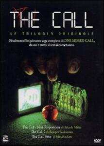 The Call. La trilogia (3 DVD) di Manabu Asou,Takashi Miike,Renpei Tsukamoto