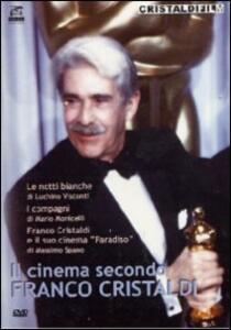 Franco Cristaldi. Il cinema secondo Franco Cristaldi (3 DVD) di Mario Monicelli,Massimo Spano,Luchino Visconti