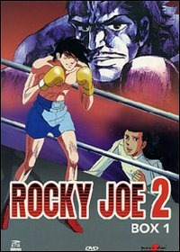 Cover Dvd Rocky Joe. Seconda serie. Box 01