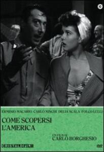 Come scopersi l'America di Carlo Borghesio - DVD