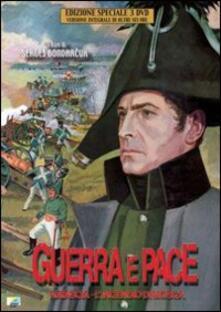 Guerra e pace (3 DVD)<span>.</span> Edizione speciale di Sergej F. Bondarchuk - DVD