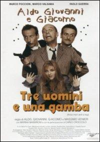 Cover Dvd Tre uomini e una gamba (DVD)